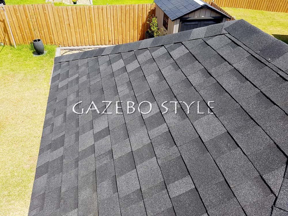 Synthetic Slate Amp Asphalt Tiled Huts
